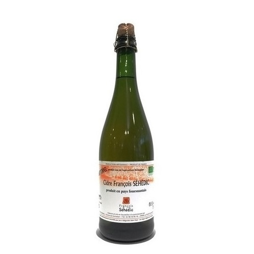 François Séhédic Cidre Traditionnel 75cl