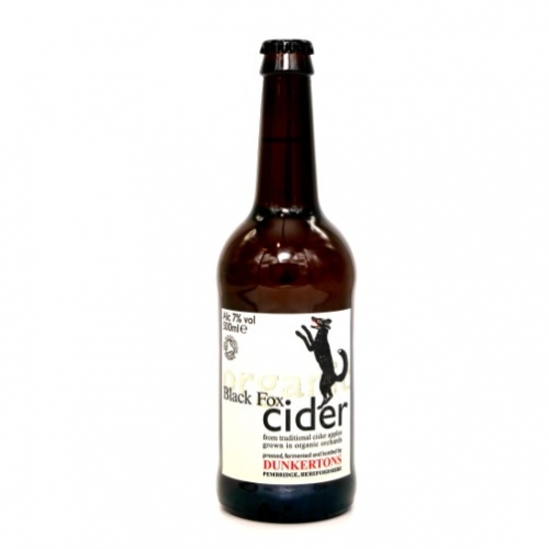 Dunkertons Black Fox Cider 50cl
