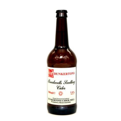 Dunkertons Breakwells Seedling Cider 50cl
