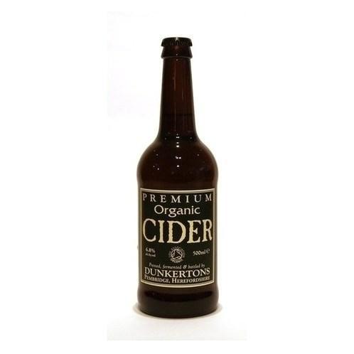Dunkertons Premium Organic Cider 50cl