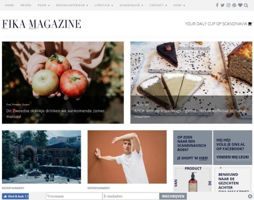 Fika Magazine cider