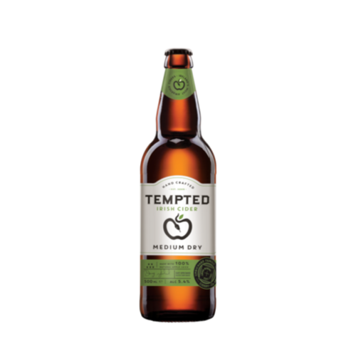 Tempted Cider Medium Dry 50cl